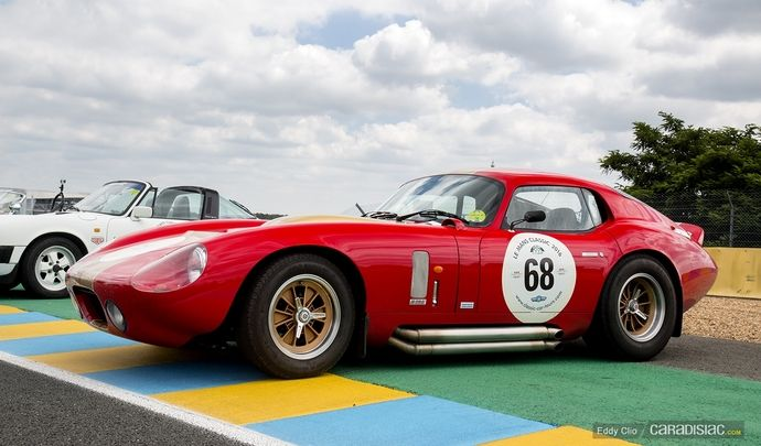 Photos du jour : Shelby Cobra Daytona Coupé (Le Mans Classic)