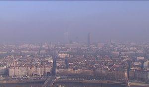 Pollution: circulation différenciée à Lyon mardi 24novembre