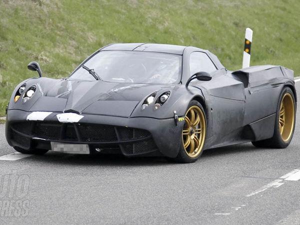 Future Pagani C9 : le prototype de nouveau sur la route