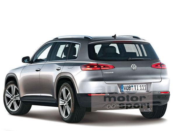 3 versions pour le prochain VW Tiguan