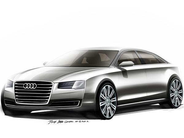 "Audi A8 restylée: opération ""méga teasing"""