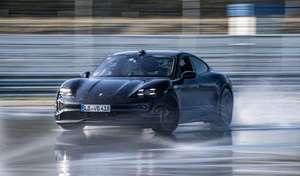 Porsche invente un nouveau record avec la Taycan