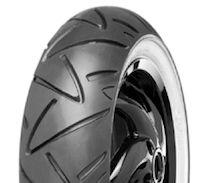 Continental ContiTwist: le pneu au flanc blanc.