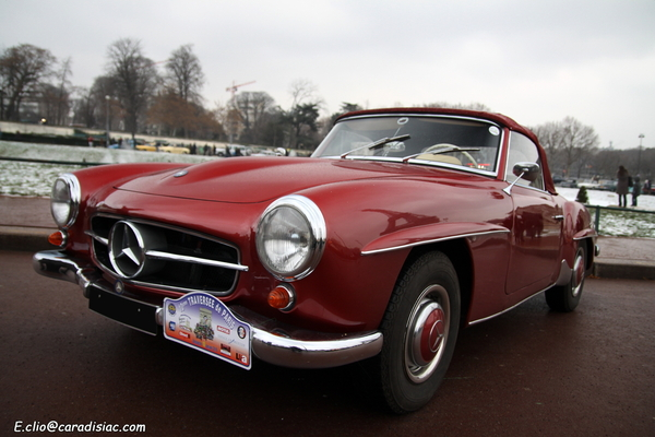 Photos du jour : Mercedes 190 SL