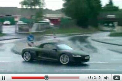 Vidéo Audi R8 Spider V10 : le souffle du taureau