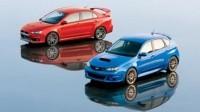 Mitsubishi Lancer Evo X vs. Subaru Impreza WRX STI : le duel au sommet !