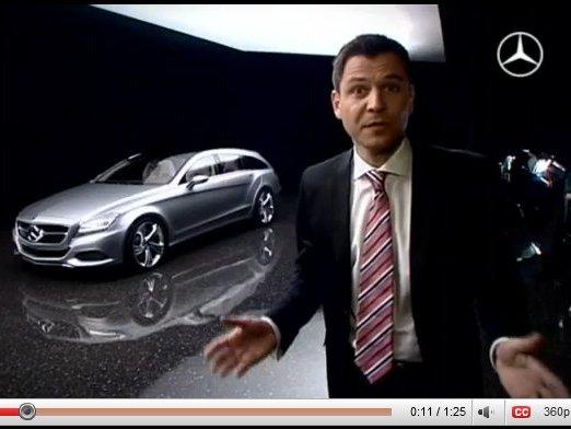 [vidéo] autour du Mercedes Shooting Break Concept