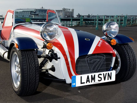Caterham Edition Seven by Lambretta