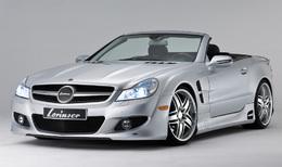 Mercedes SL500 par Lorinser : low rider ?