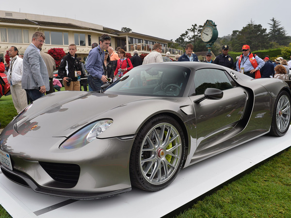Pebble Beach 2013 : la Porsche 918 Spyder de pré-production sous tous les angles