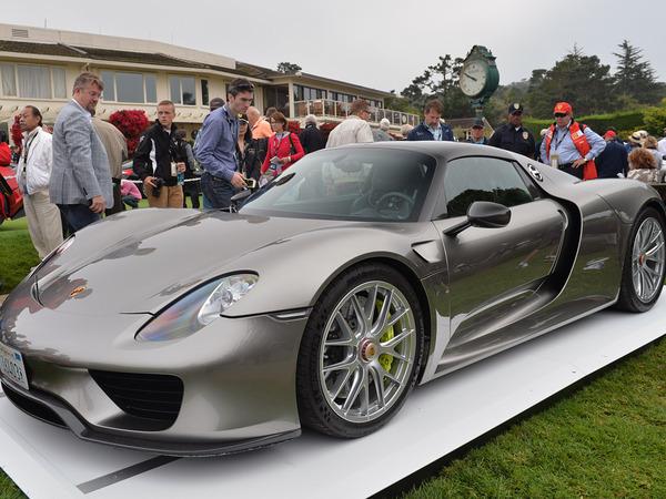 Pebble Beach 2013 : la Porsche 918 Spyder de pré-production sous tous les angles