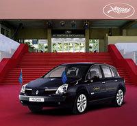 Encore des Renault Vel Satis pour les stars du festival de Cannes