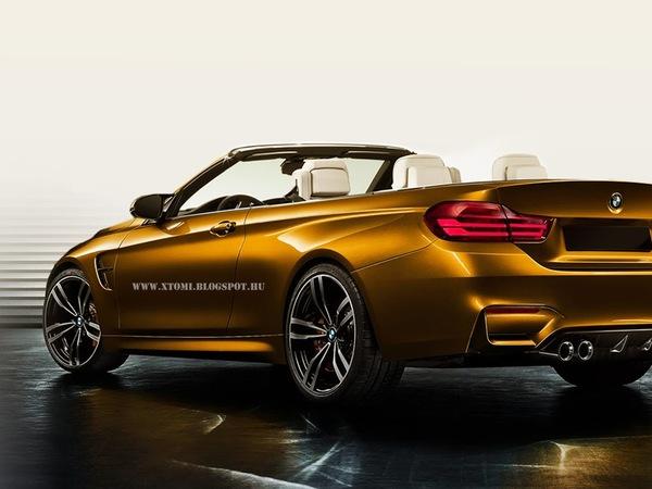 BMW M4 Cabriolet : comme ça ?