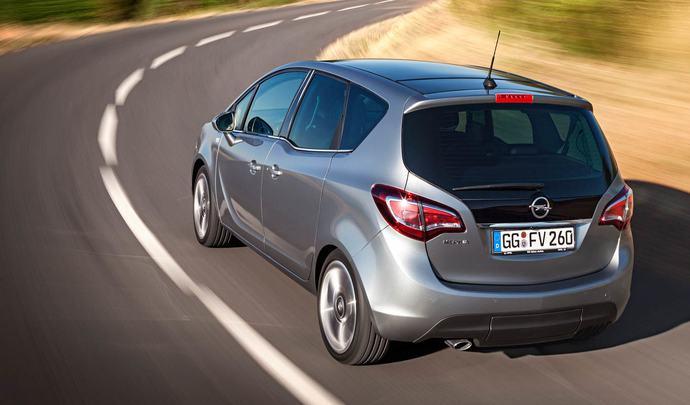 Opel : le prochain Meriva en crossover