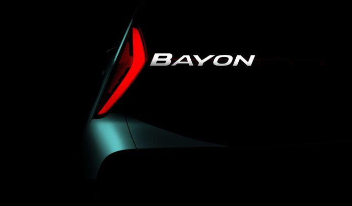 Hyundai annonce un nouveau SUV, le Bayon