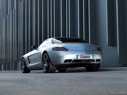 Votre Mercedes SLS AMG est trop silencieuse ? Akrapovic est la solution (vidéo)