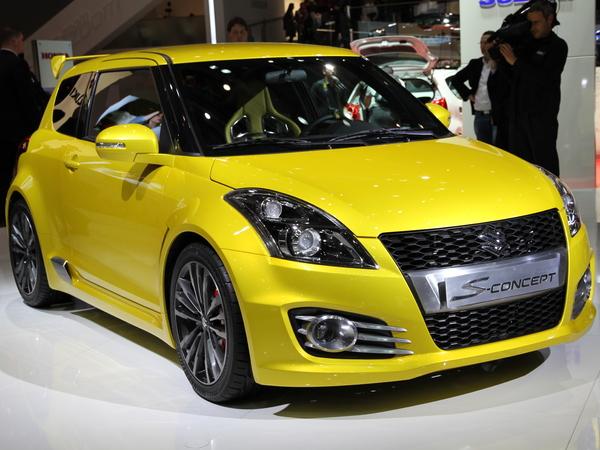 Genève 2011 live : Suzuki Swift-S Concept, une grande gueule et peu de chevaux