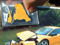 Un morceau de Lamborghini sur e-bay