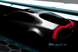 Salon de Chicago 2010 : le Concept hybride rechargeable Kia Ray