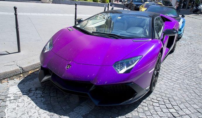 Photos du jour : Lamborghini Aventador