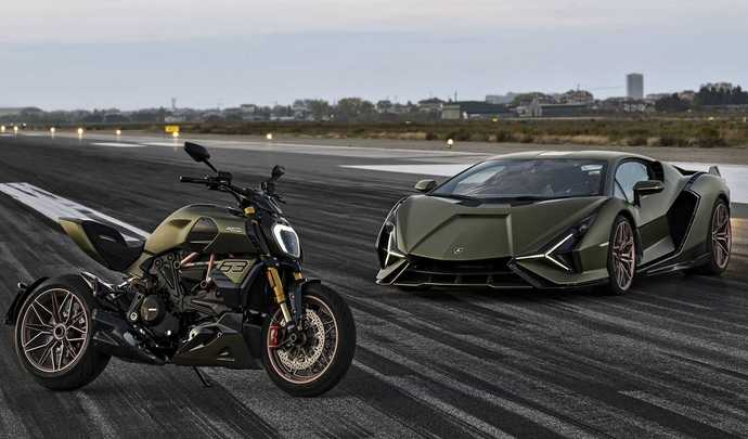 Ducati Diavel 1260 Lamborghini : l'alliance de deux mythes