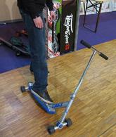 En direct du Salon du Jouet et du Jeu 2010 : une nouvelle trottinette avec sensations du skateboard !