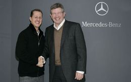 F1 2010 : Ross Brawn parie sur Schumacher