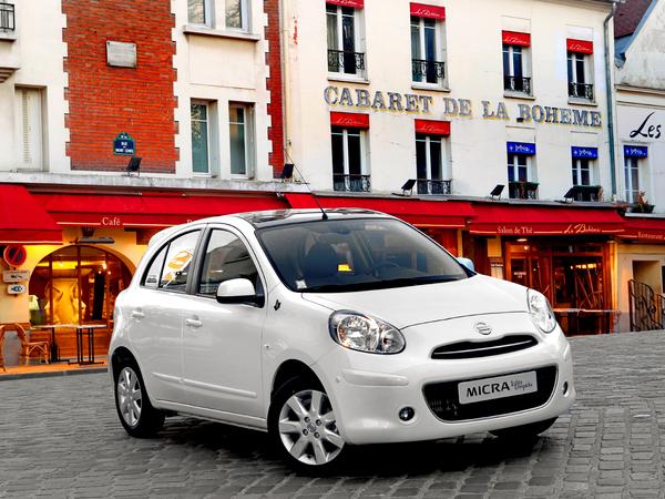 """La Nissan Micra se décline dans une version Lolita Lempicka """"Pearl"""""""