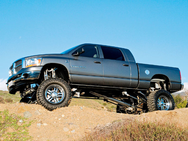Dodge Ram : lourd a tous les niveaux