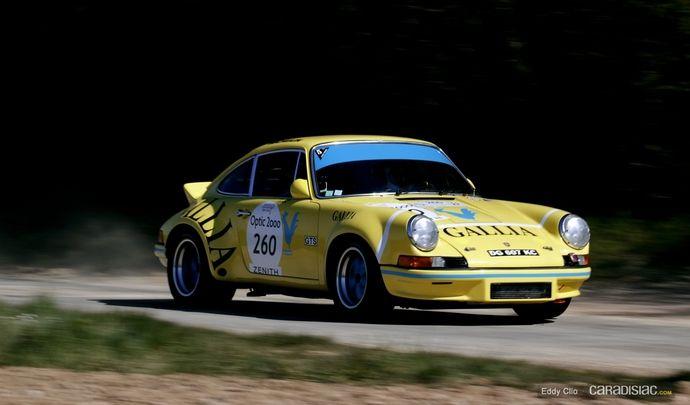 Photos du jour : Porsche 911 RSR (Tour Auto)