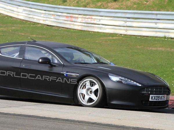 Aston Martin prépare sa Rapide de course sur le Nürburgring