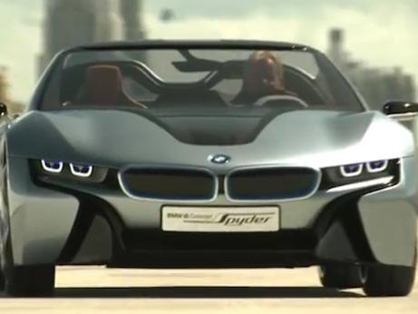 [vidéo] BMW i8 Spyder Concept en action