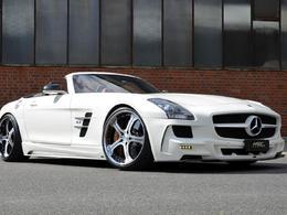 MEC Design dévoile sa Mercedes SLS AMG Roadster