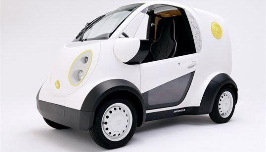 Honda : un véhicule réalisé par impression 3D