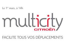 """Citroën lance un nouveau portail de mobilité : """"Multicity"""""""