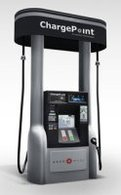 Une nouvelle station de recharge rapide signée Coulomb Technologies et Aker Wade