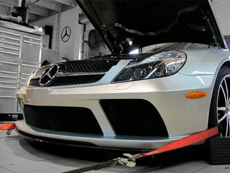 [Vidéo] 805 chevaux pour la Mercedes SL65 AMG Black Series par Renntech