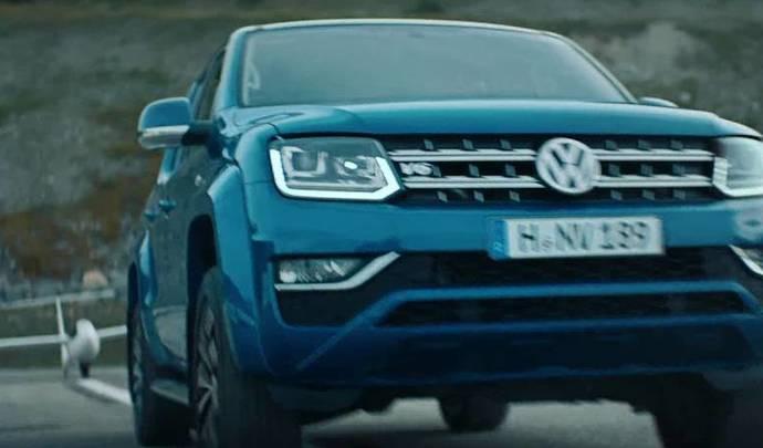 Insolite : le nouveau Volkswagen Amarok, tireur de planeur