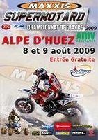 Championnat de France de supermotard à l'Alpe d'Huez : Blot s'impose en superfinale