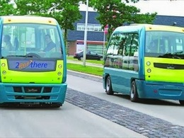 Midi Pile, voiture connectée: à La Rochelle elle roule déjà et c'est un bus !