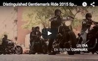Distinguished Gentleman's Ride 2015: l'Espagne en vidéo