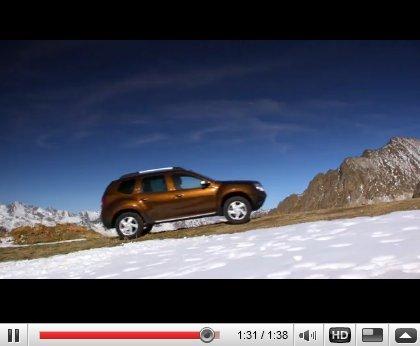 Le nouveau Dacia Duster en images qui bougent