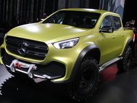 Présentation Mercedes X-Class concept : le pick-up du patron