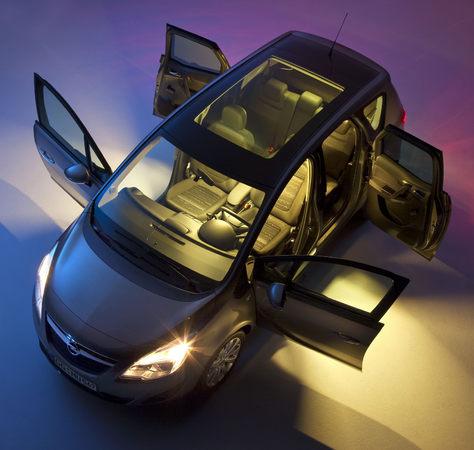 Nouvel Opel Meriva : déferlante de photos et vidéos