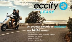 Eccity propose son scooter 125 en leasing