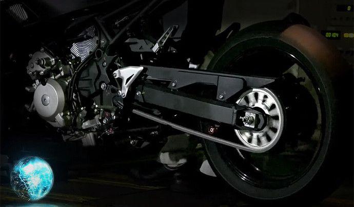 Kawasaki mise sur l'hybride