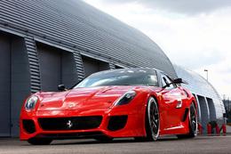 Salon de Genève 2010 : la nouvelle Ferrari 599 hybride