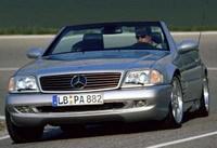 Les monstres routiers: La Mercedes SL 73 AMG !