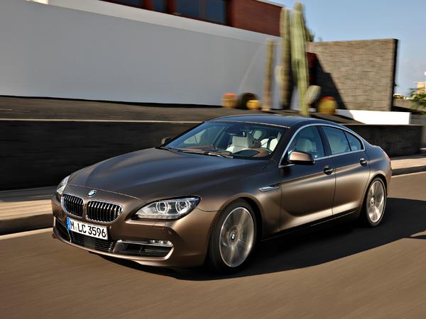 BMW Série 6 Gran Coupé : les tarifs