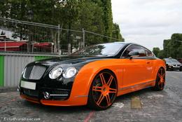 Photos du jour : Bentley Continental Mansory